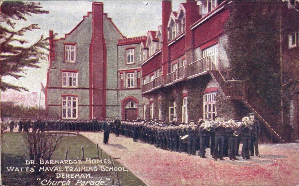Watts Naval Training School Church Parade